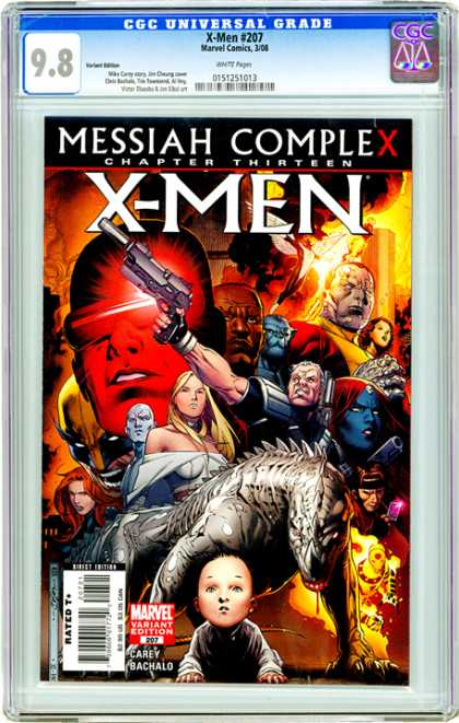 CGC Graded Comics - X-Men #207 (CGC)