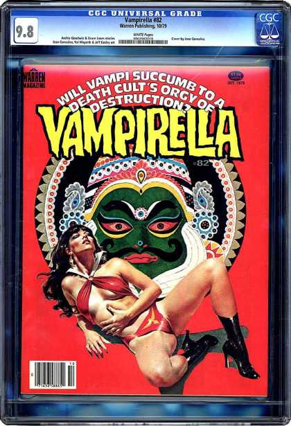CGC Graded Comics - Vampirella #82 (CGC)