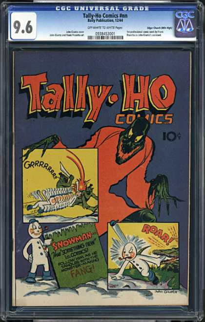 CGC Graded Comics - Tally-Ho Comics #nn (CGC)