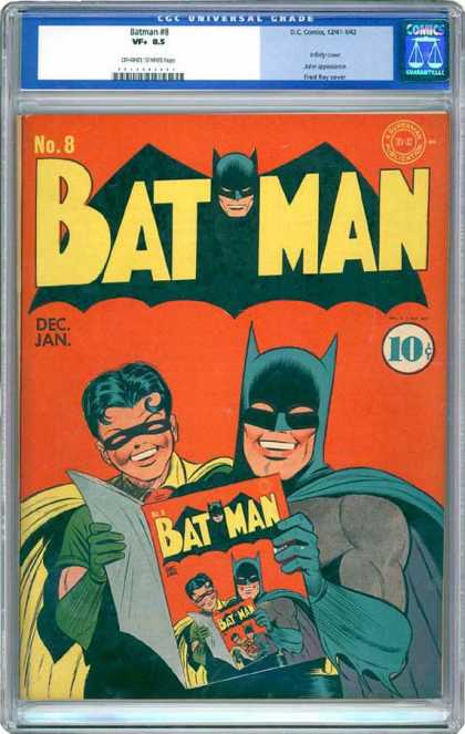 CGC Graded Comics - Batman #8 (CGC)
