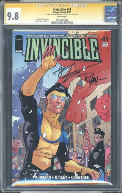 CGC Graded Comics - Invincible #41 (CGC)