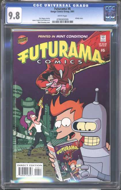 CGC Graded Comics - Futurama #6 (CGC)