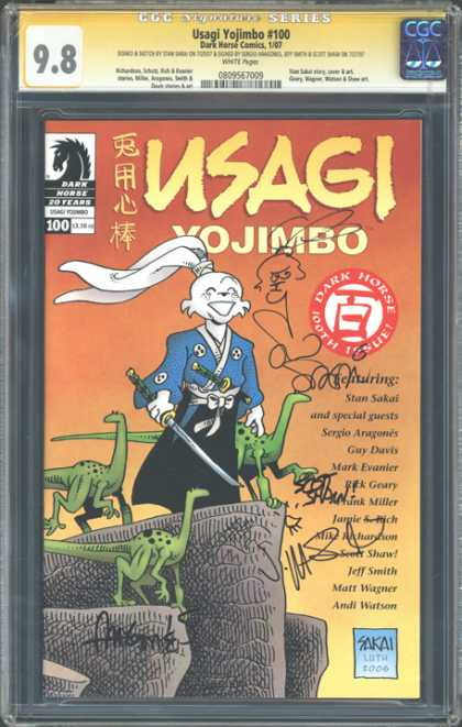 CGC Graded Comics - Usagi Yojimbo #100 (CGC)