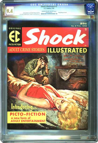 CGC Graded Comics - Shock Illustrated #2 (CGC)