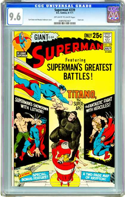 CGC Graded Comics - Superman #239 (CGC)