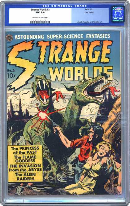 CGC Graded Comics - Strange Worlds #3 (CGC)