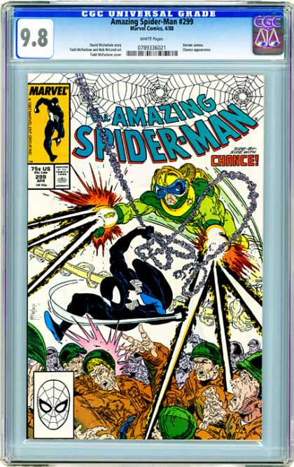 CGC Graded Comics - Amazing Spider-Man #299 (CGC)
