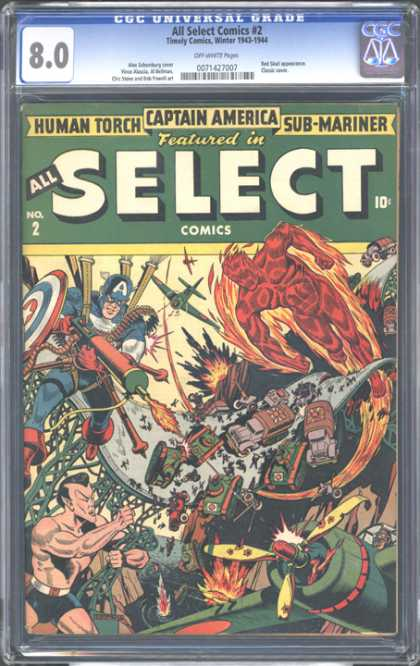 CGC Graded Comics - All Select Comics #2 (CGC)