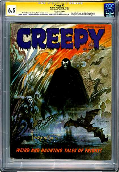 CGC Graded Comics - Creepy #5 (CGC)