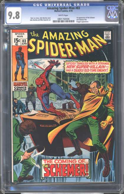 CGC Graded Comics - Amazing Spider-Man #83 (CGC)