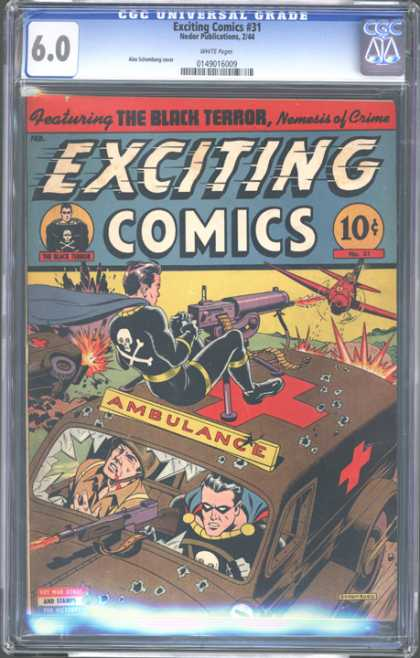 CGC Graded Comics - Exciting Comics #31 (CGC)