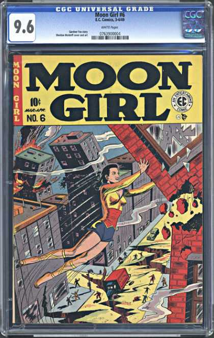 CGC Graded Comics - Moon Girl #6 (CGC)