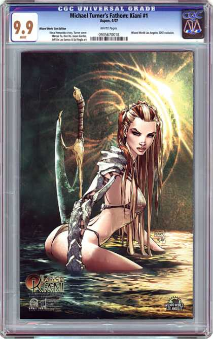 CGC Graded Comics - Michael Turner's Fathom: Kiani #1 (CGC)
