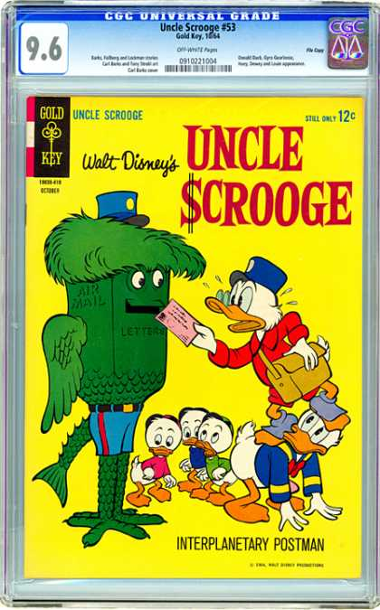 CGC Graded Comics - Uncle Scrooge #53 (CGC)