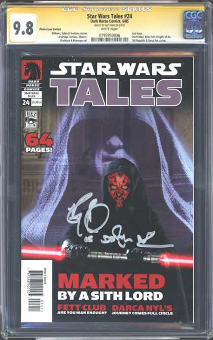 CGC Graded Comics - Star Wars Tales #24 (CGC)