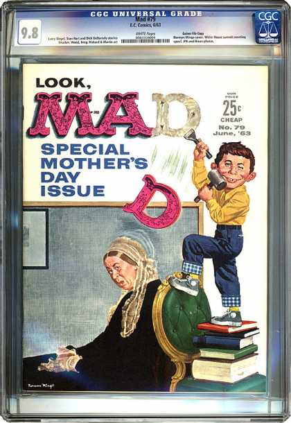 CGC Graded Comics - Mad #79 (CGC) - Mad - Mothers Day - No79 - June 1963 - Special Mothers Day Issue