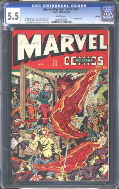CGC Graded Comics - Marvel Mystery Comics #55 (CGC)