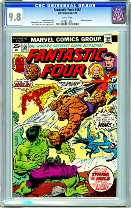 CGC Graded Comics - Fantastic Four #166 (CGC)