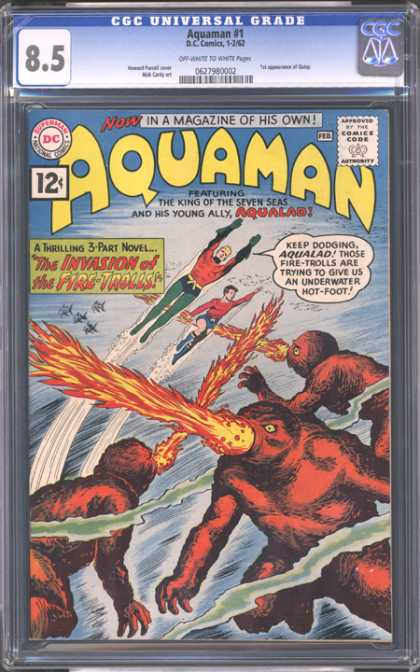 CGC Graded Comics - Aquaman #1 (CGC)