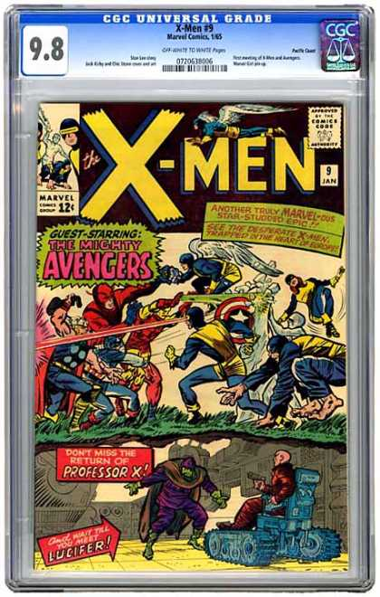 CGC Graded Comics - X-Men #9 (CGC)