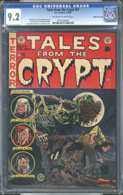 CGC Graded Comics - Tales from the Crypt #37 (CGC)