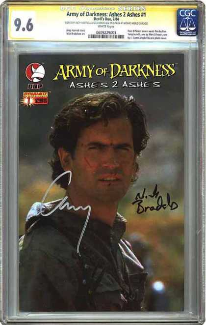 CGC Graded Comics - Army of Darkness: Ashes 2 Ashes #1 (CGC)
