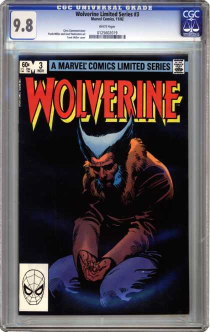 CGC Graded Comics - Wolverine Limited Series #3 (CGC)