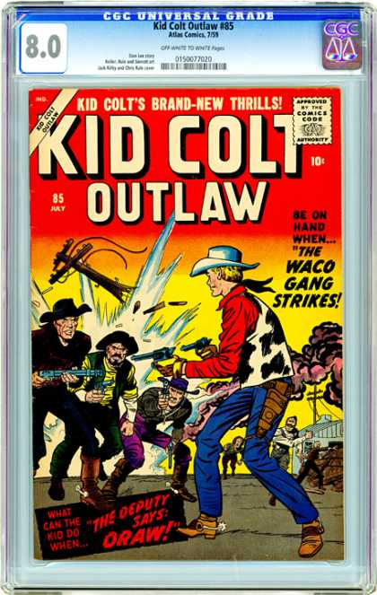 CGC Graded Comics - Kid Colt Outlaw #85 (CGC)
