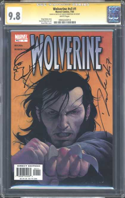 CGC Graded Comics - Wolverine #v3 #1 (CGC)