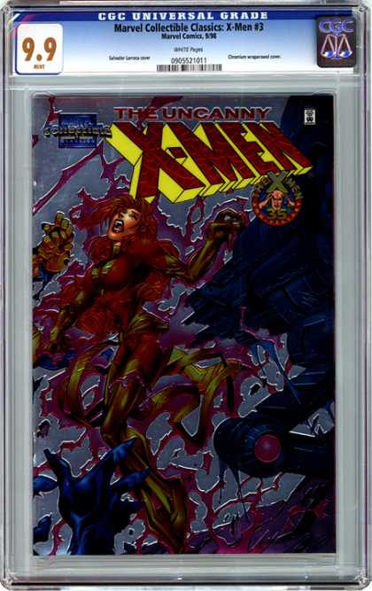 CGC Graded Comics - Marvel Collectible Classics: X-Men #3 (CGC)