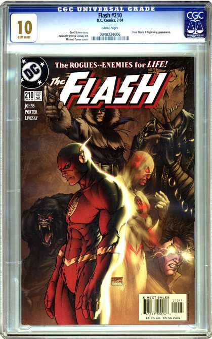 CGC Graded Comics - Flash #210 (CGC)