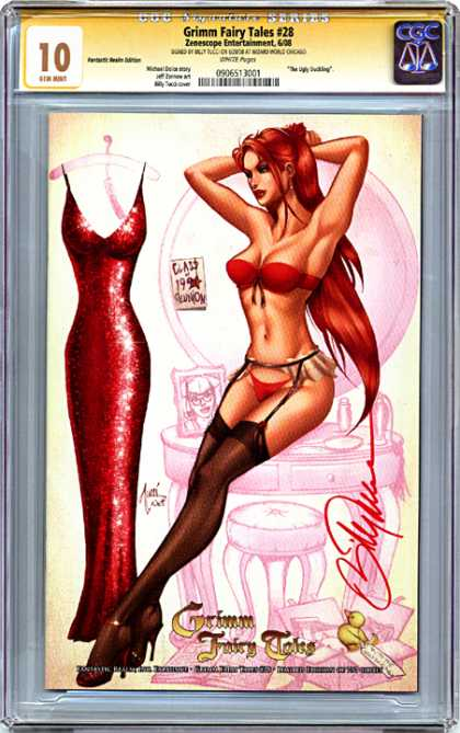 CGC Graded Comics - Grimm Fairy Tales #28 (CGC)