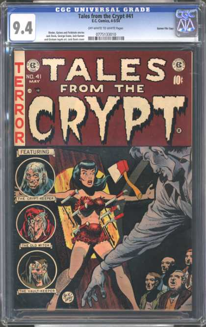 CGC Graded Comics - Tales from the Crypt #41 (CGC)
