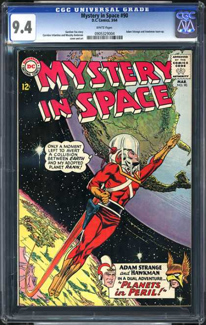 CGC Graded Comics - Mystery in Space #90 (CGC)