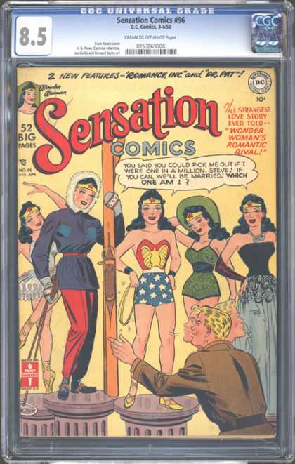 CGC Graded Comics - Sensation Comics #96 (CGC)