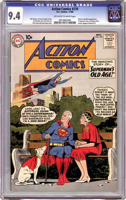 CGC Graded Comics - Action Comics #270 (CGC)
