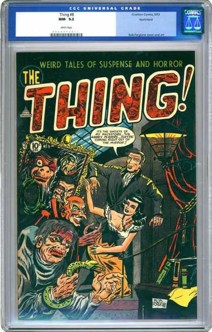 CGC Graded Comics - Thing #8 (CGC) - Weird Tales - Suspense - Horror - The Thing - Universal Grade