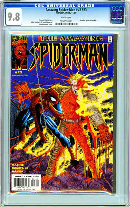 CGC Graded Comics - Amazing Spider-Man #v2 #23 (CGC)