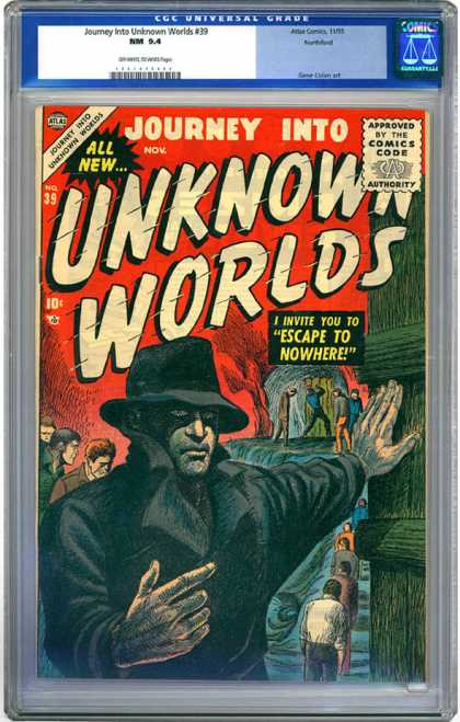 CGC Graded Comics - Journey Into Unknown Worlds #39 (CGC)