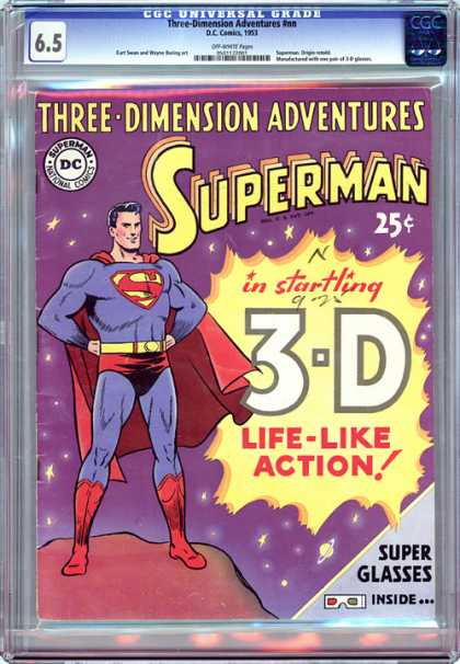 CGC Graded Comics - Three-Dimension Adventures #nn (CGC)