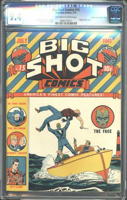 CGC Graded Comics - Big Shot Comics #5 (CGC)