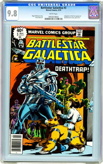 CGC Graded Comics - Battlestar Galactica #3 (CGC)