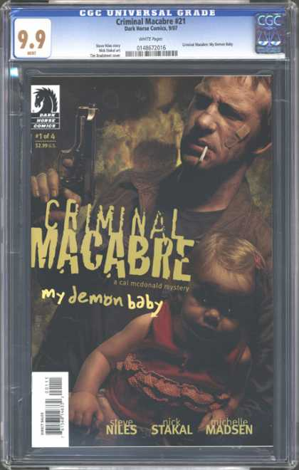 CGC Graded Comics - Criminal Macabre #21 (CGC)