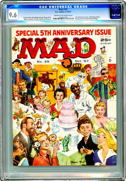 CGC Graded Comics - Mad #35 (CGC)