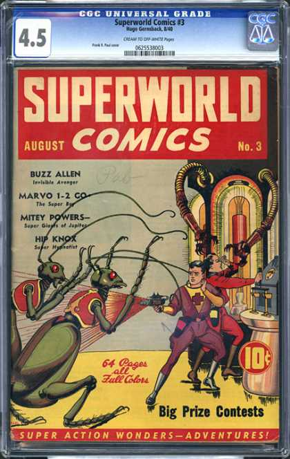 CGC Graded Comics - Superworld Comics #3 (CGC)