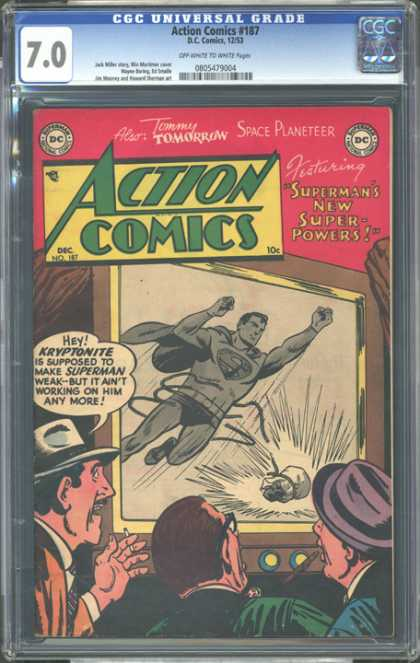 CGC Graded Comics - Action Comics #187 (CGC)