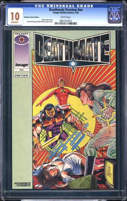 CGC Graded Comics - Deathmate Preview #nn (CGC)