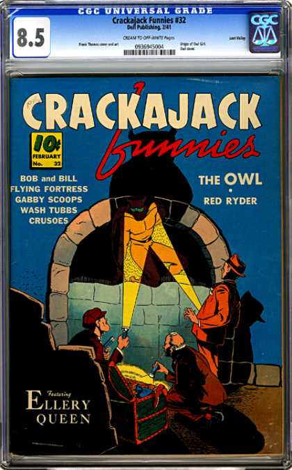 CGC Graded Comics - Crackajack Funnies #32 (CGC)