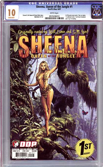 CGC Graded Comics - Sheena, Queen of the Jungle #1 (CGC)