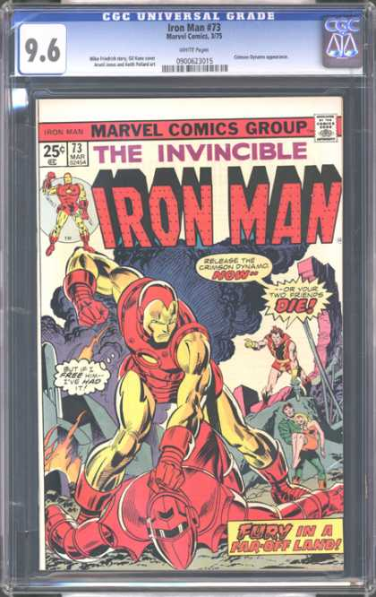 CGC Graded Comics - Iron Man #73 (CGC)